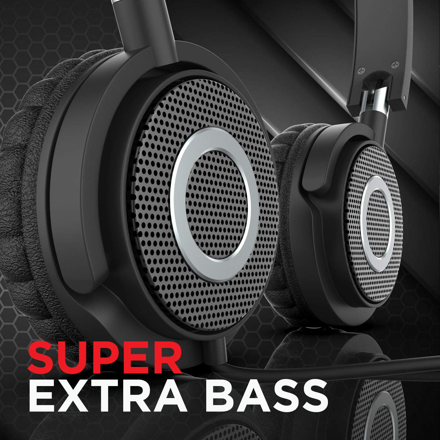 boAt Bassheads 900 On-Ear Headphones with Mic