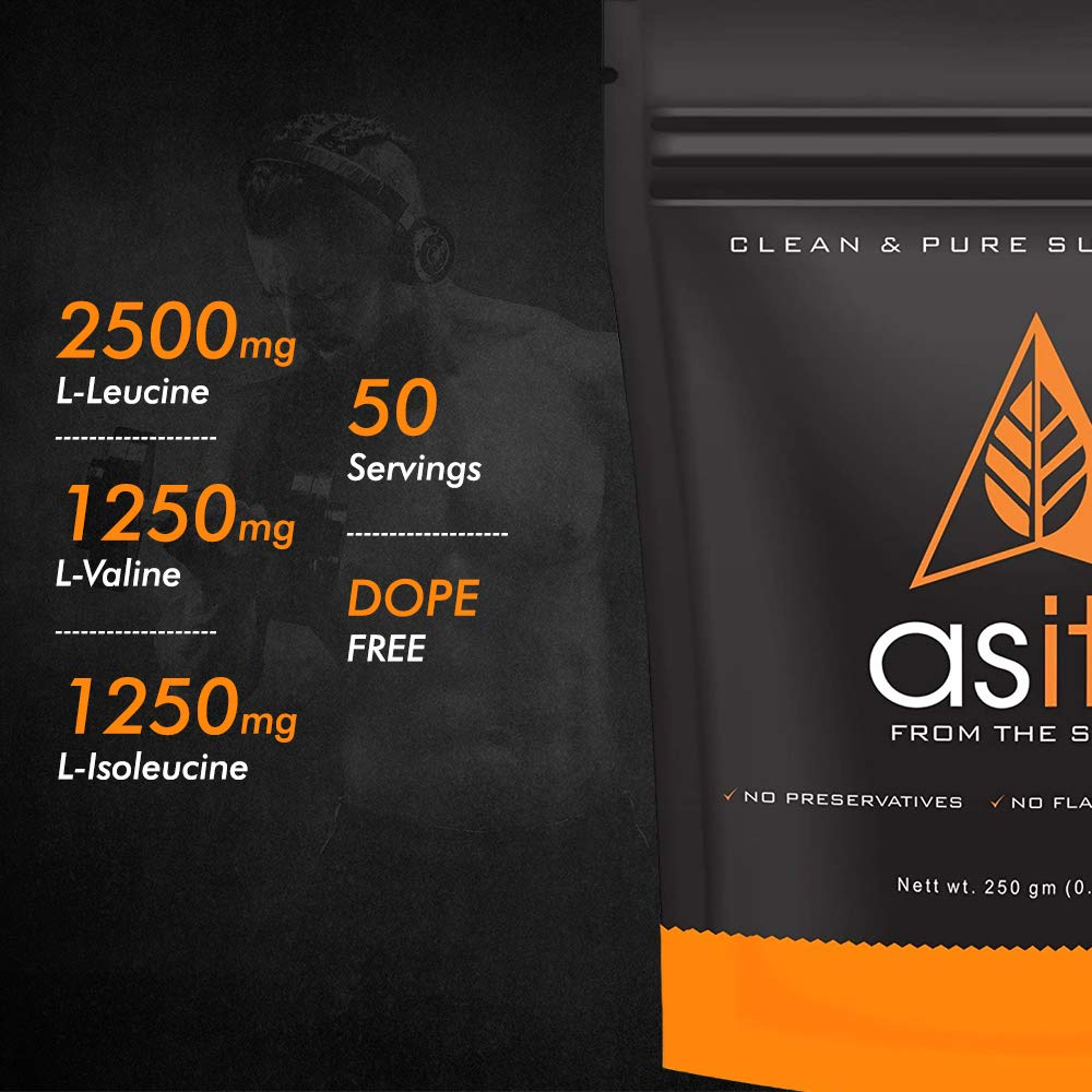 AS-IT-IS Nutrition 100% Pure BCAA Powder