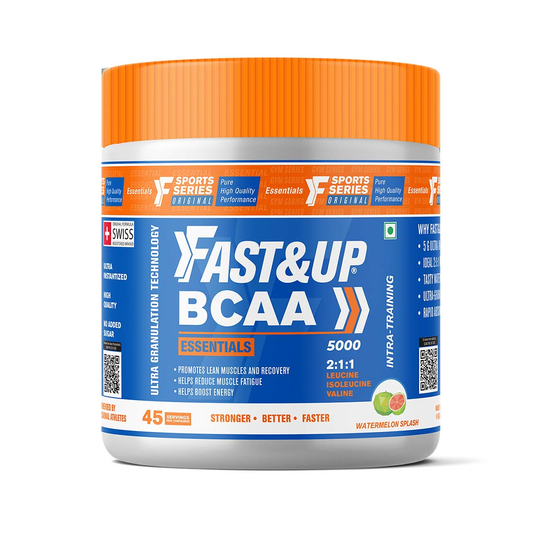 Fast and Up BCAA Pre/Post Workout Supplement
