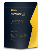 Powerus Raw Whey Protein Concentrate 80% 1Kg