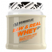 Bigmuscles Nutrition Raw Whey Protein Concentrate 80% 480Gm