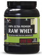 Advance MuscleMass Raw Whey Protein Concentrate 80% 1Kg