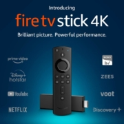 Fire TV Stick 4K streaming media player with Alexa built in