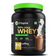 Fitspire 100% Gold Standard Isolate Whey Protein 2Kg