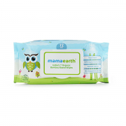 Mamaearth India's First Organic Bamboo Based Baby Wipes (72 Pcs.)