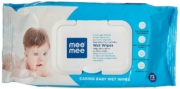 Mee Mee Caring Baby Wet Wipes with Aloe Vera (72 Pcs.)