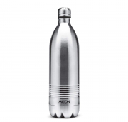 Milton Thermosteel Duo Deluxe Bottle Style Vacuum Flask 1 Litre