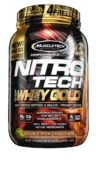 MuscleTech Nitrotech 100% Whey Gold 1Kg (Whey Protein Isolate+Peptides)
