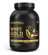 Nakpro Gold Raw Whey Protein Concentrate 80% 1Kg
