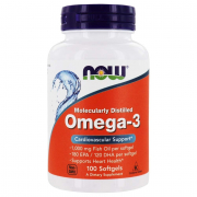 Now Foods Omega-3 Fish Oil 1000mg (100 Caps)