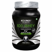 Six Pack Nutrition 100% Whey Protein Powder 1Kg