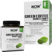 Wow Green Coffee Bean Extract 60 Capsules
